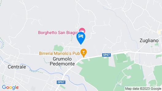 Borghetto San Biagio Relais Map