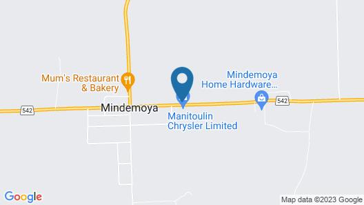 Mindemoya Motel Map