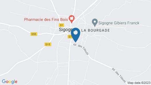 Au Bellefleur Map