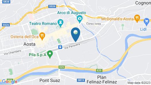 Le Pageot Map