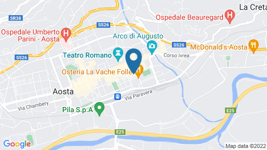 Omama Hotel Map