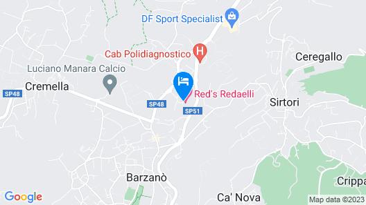 Red S Redaelli Hotel Map
