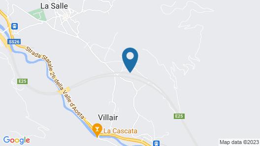 Altido La Salle il Fascino Della Valle Map