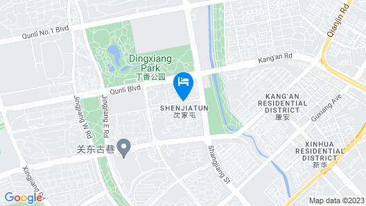 Holiday Inn Express Harbin Qunli Map