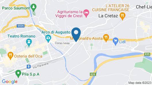 Hostellerie Du Cheval Blanc Map