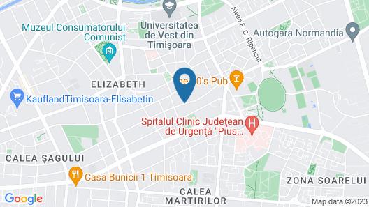 Hotel Reghina Blue Map