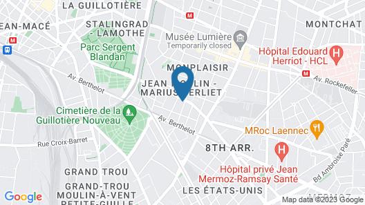 Le Berliet-monplaisir Map