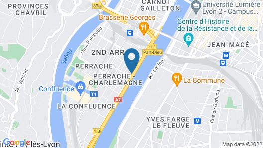 ibis budget Lyon Confluence Map