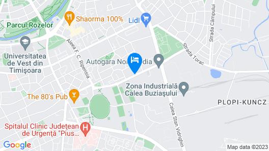 1 Hotels Map