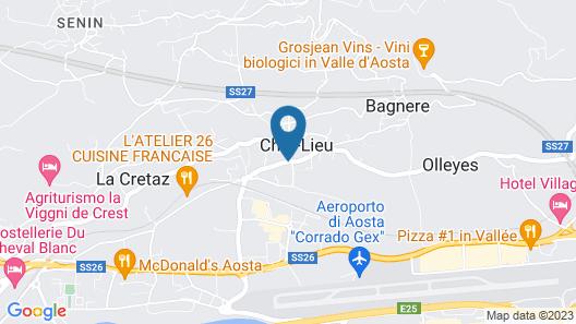 Albergo Casale Map
