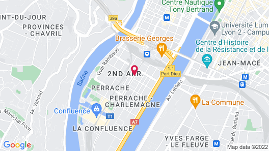Hotel Charlemagne Map