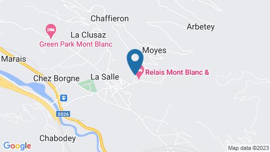 Relais Mont Blanc Hotel & SPA Map