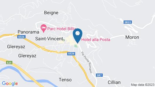 Hotel Alla Posta Map
