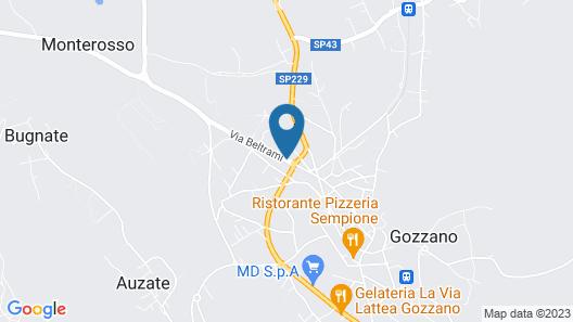 Hotel Nuova Italia Map