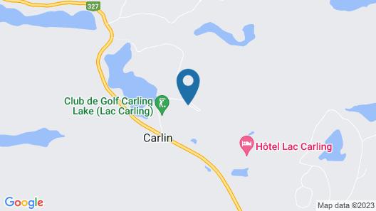 Hôtel Lac Carling Golf & Spa Map