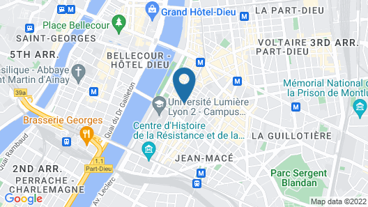 Hotel du Helder Map