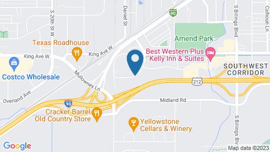 Days Inn by Wyndham Billings Map