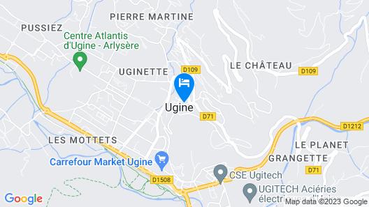Hôtel du Bourg Map