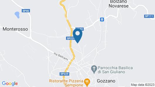 Mansarda Margherita Map