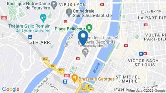 Hôtel La Résidence Lyon Map