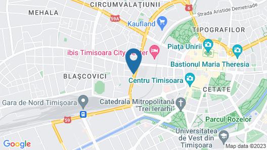 ibis Timisoara City Center Map
