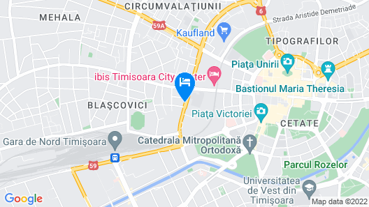 ibis Timisoara City Center Map