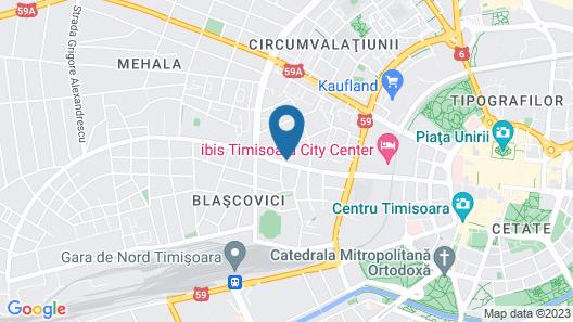 Del Corso Hotel Map