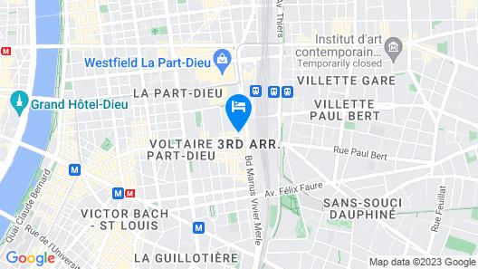 Nemea - Appart Hôtel Résidence So Cloud Map