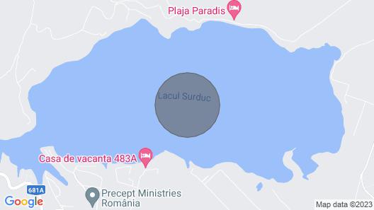 Lodge on the Lake Lacul Surduc Map