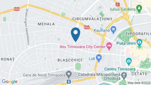Mercure Timisoara Map