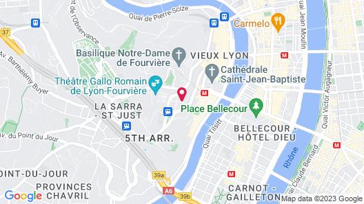 Villa Maïa Map