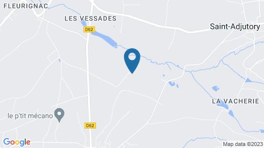 Domaine Du Pompinaud Map