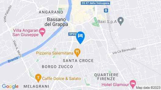 Ostello Bassano Del Grappa Map
