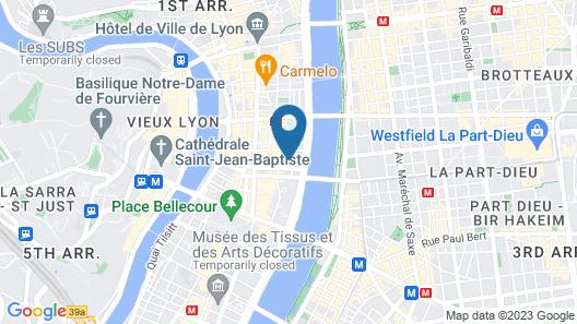 Hotel Carlton Lyon - MGallery Hotel Collection Map