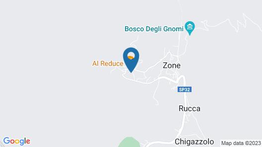 Ostello Trentapassi Map