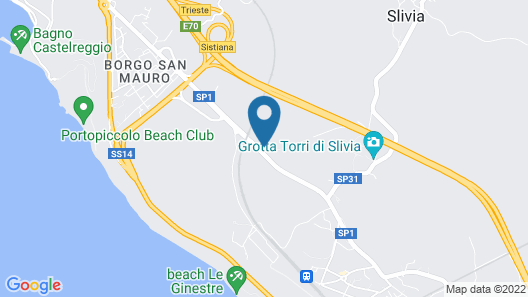 Camping Agrituristico Carso Map