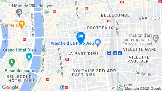ibis Lyon Part Dieu Les Halles Map