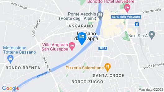 B&B 96 Bassano Map