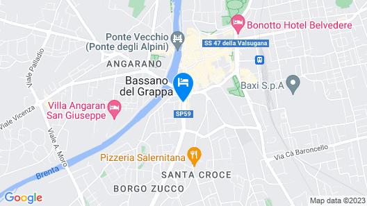 Hotel Dal Ponte Map