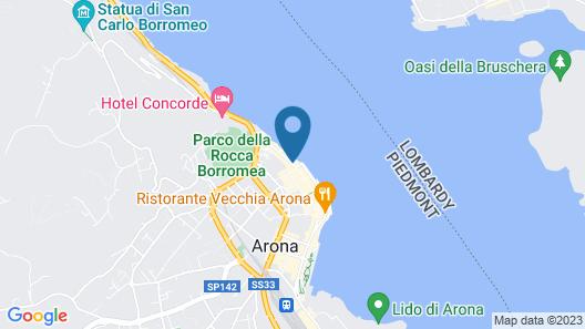 Aparthotel Arona Map