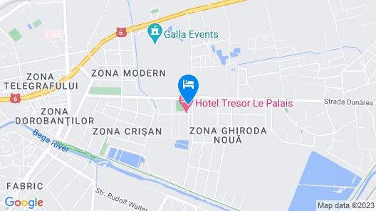 Tresor le Palais Map