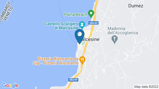 Hotel Malcesine Map