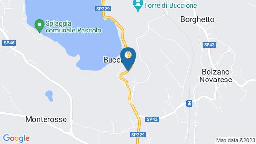 Villa Elisa 7 Sulle Sponde Del Lago Dorta Map