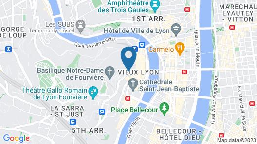 Villa Florentine Map