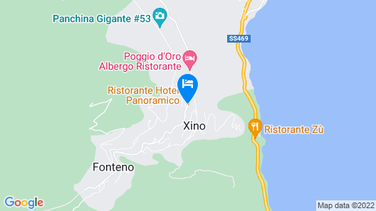 Esprit D'Hotel Panoramico Map