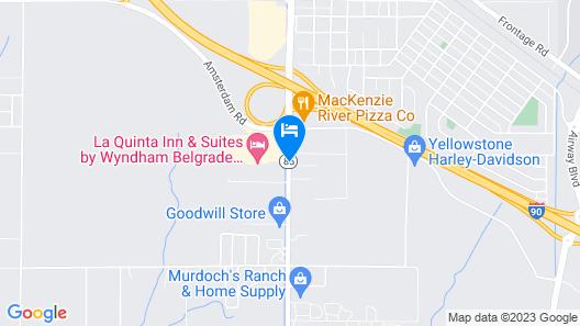 Super 8 by Wyndham Belgrade/Bozeman Airport Map