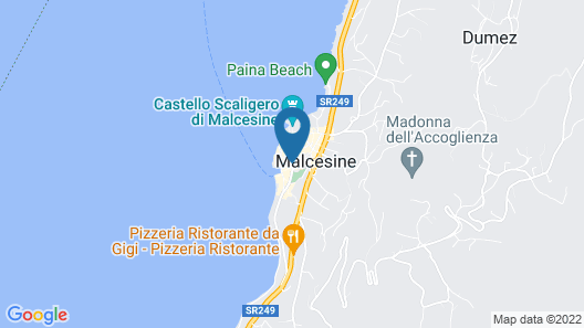 Hotel Alpino Map