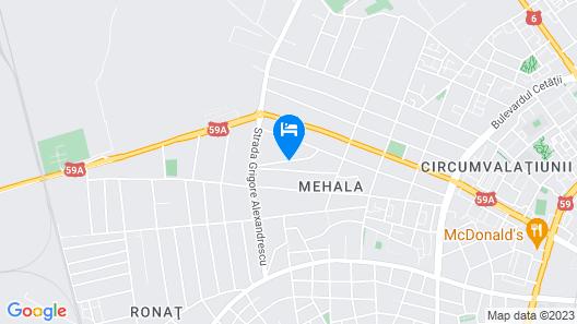 Hotel Zefir Map