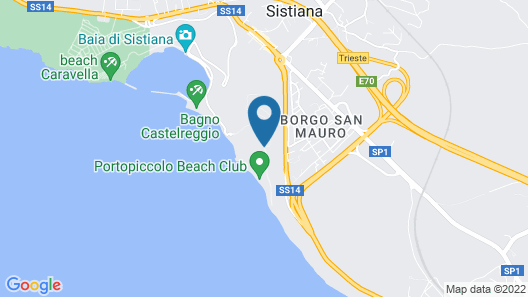 Portopiccolo Apartments Map
