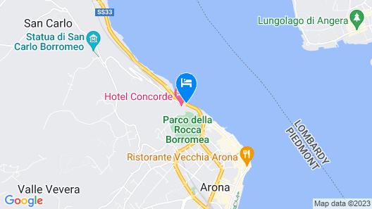 Hotel Concorde Map